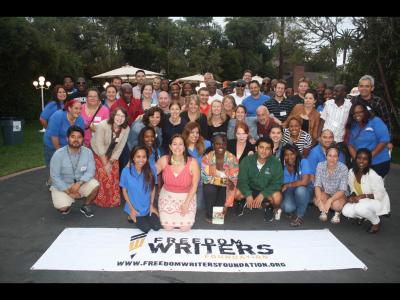 Freedom Writers group photo 1