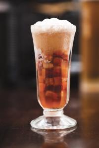 Strawberry Icewine float