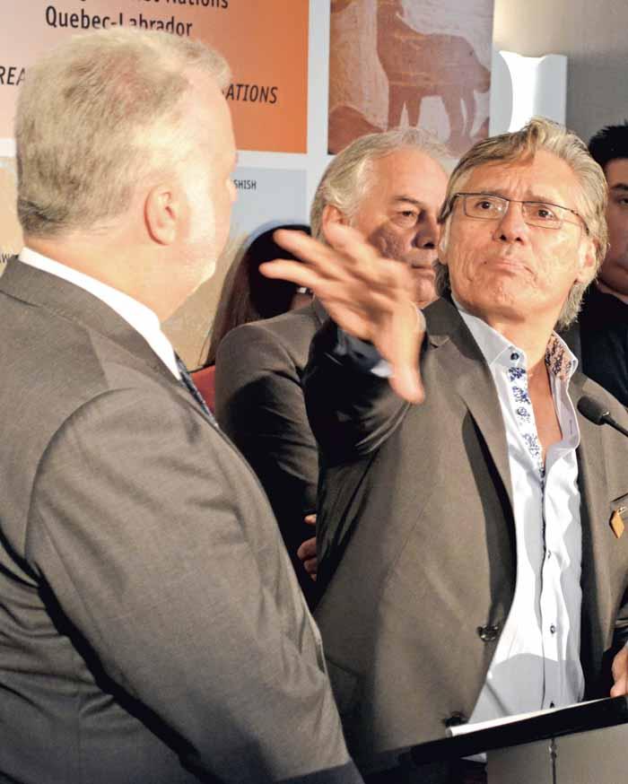 Grand Chief Matthew Coon Come takes on Premier Couillard