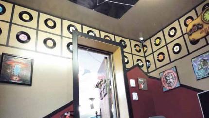 Inside the Retro Daze Cafe