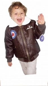 Hunter, Up and Away military jacket