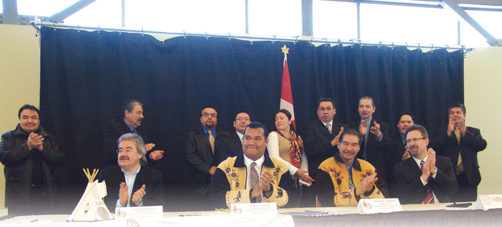 $1.4 billion deal signed: Cree Nation celebrates the final implementation of the JBNQA