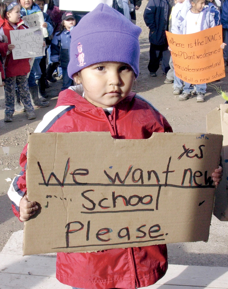 """""""We've never seen a REAL SCHOOL. If the Government has its way"""