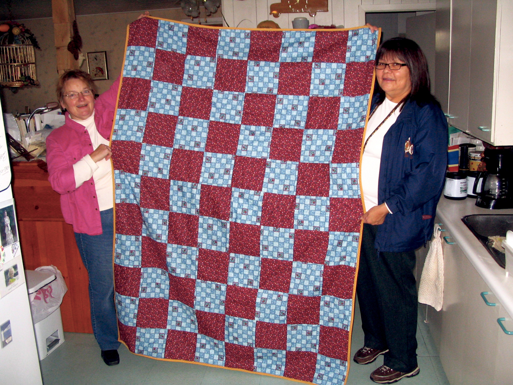Covered by Love: Philanthropic endeavour creates quilts to warm hearts and bodies